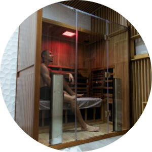 infrared sauna man dubai